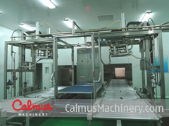 China 1000L Bag Filling Machine IBC Bag Aseptic Filler ASP-BICF302
