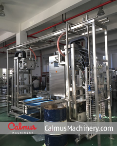 China 200-220L Bag Filling Machine Bag-in-Drum Aseptic Filler ASP-BIBF202