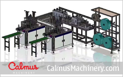 CSM12 China 3-Ply Mask Making Machine Production Line 1