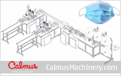 CSM12 China 3-Ply Mask Making Machine Production Line 2