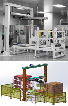 China Robotic Box Palletizer BLP20