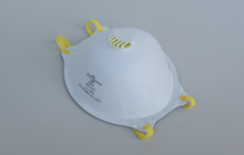 CE-FFP3 Cup-Shaped Respirator Mask with Valve