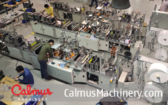CM95A China KN95/N95/FFP2 Mask Making Machine Production Line 1
