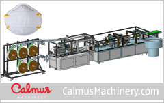 CM95CA China Cup-Shaped N95/FFP2 Mask Machine Production Line 2