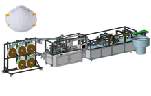 N95/FFP2 Cup Respirator Mask Machine Production Line